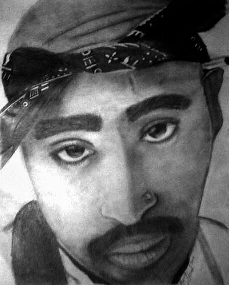 Tupac by KrisNDeL09